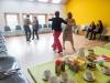 The dansant intergenerationnel a l'Eglise des Valangines.  Neuchatel, le 10 mars 2019 Photo : Lucas Vuitel
